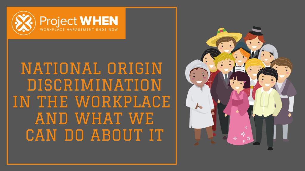 national origin discrimination in the workplace